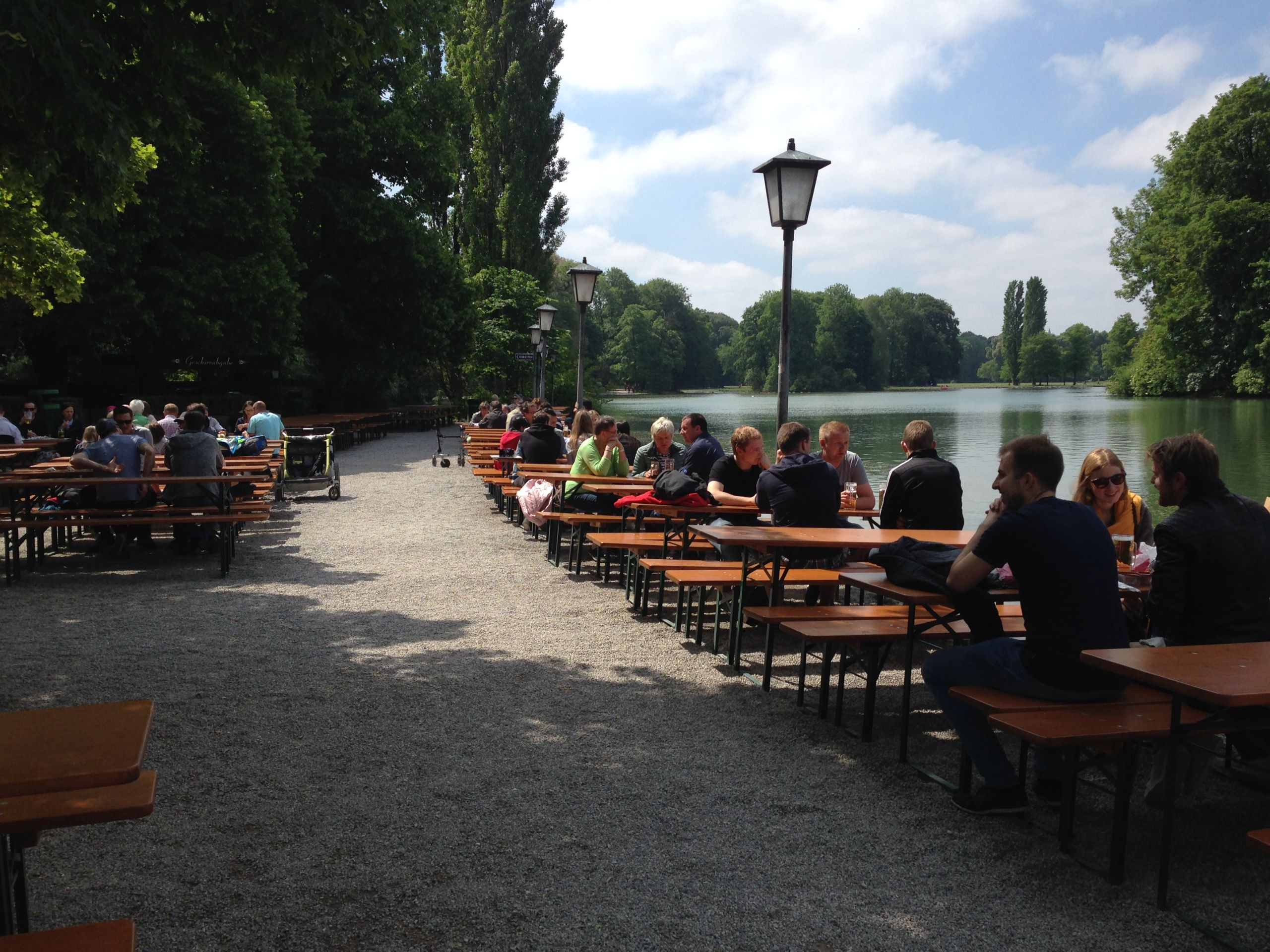 Englischer Garten München Parken Genial A Beer In the Park Beer Gardens In Munich S English Garden