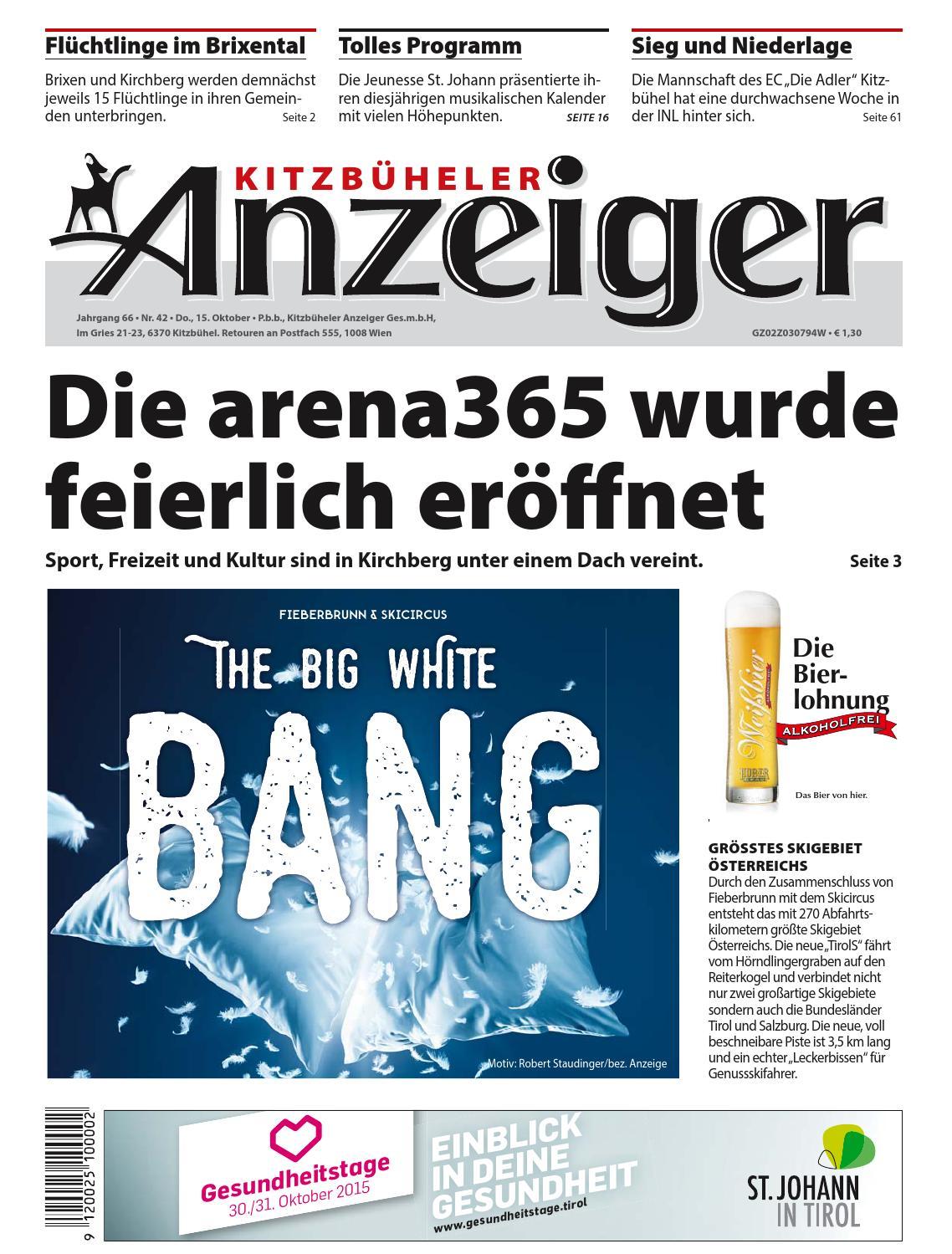 Fassade Reinigen Hausmittel Schön Kitzbüheler Anzeiger Kw 42 2015 by Kitzanzeiger issuu