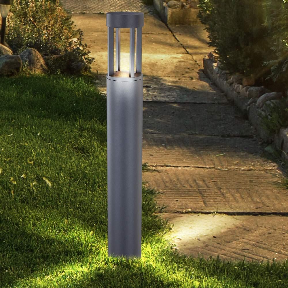 frisch garten stehleuchte idee 6 watt led ausenleuchte ausenbereich garten lampe stehleuchte leuchte aluminium dunkelgrau globo of garten stehleuchte