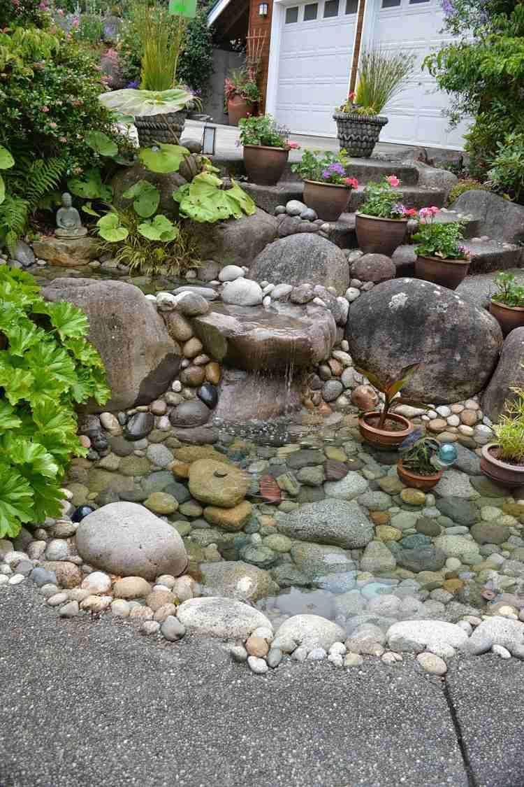 inspirierend garten mit steinen anlegen idee steingarten anlegen 25 hervorragende beispiele fur of garten mit steinen anlegen