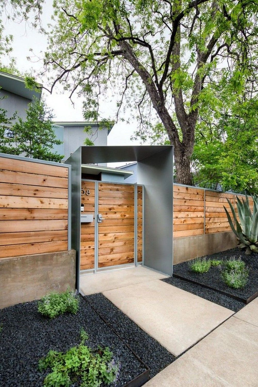 Garten Anlegen Neubau Inspirierend 46 Wunderschöne Moderne Zaun Design Ideen Passen Für Jedes