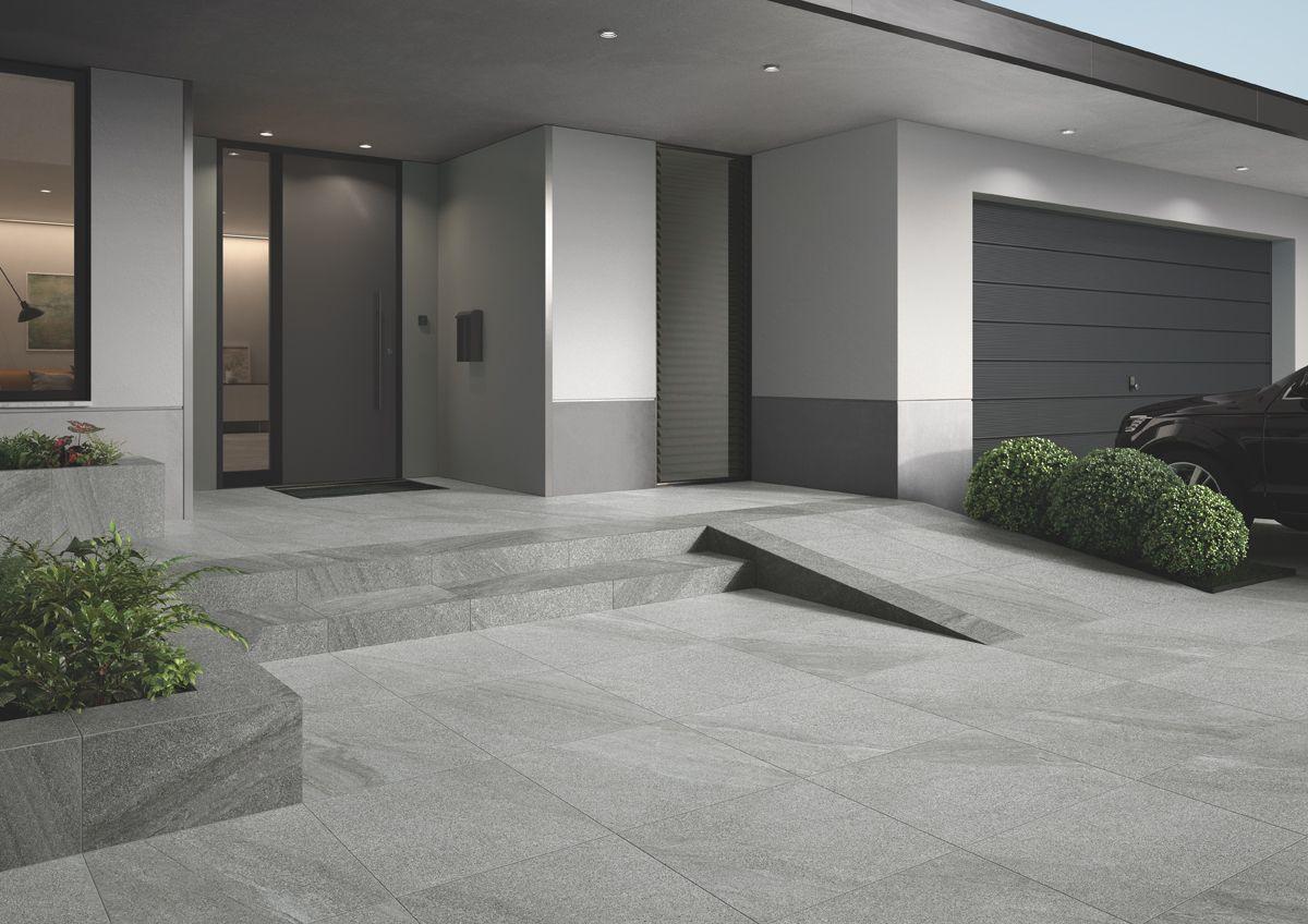 Garten Anlegen Neubau Luxus Villeroy Und Boch Terrassenplatte Vilbogarden Mont Blanc