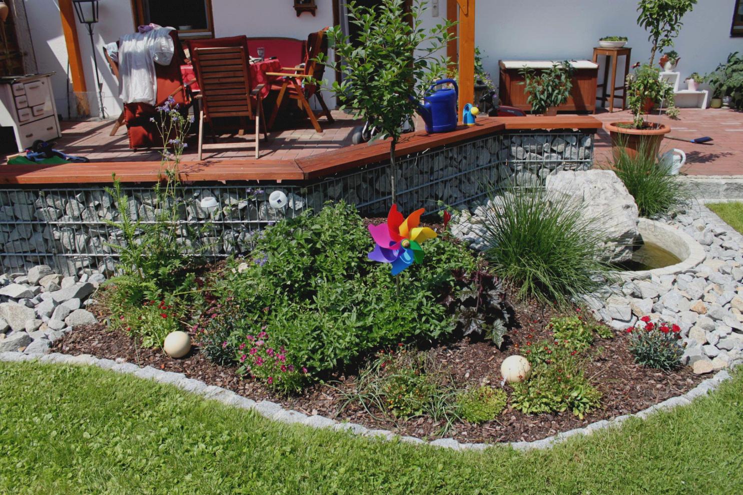 Garten Anlegen Neubau Neu Terrassen Beispiele Garten