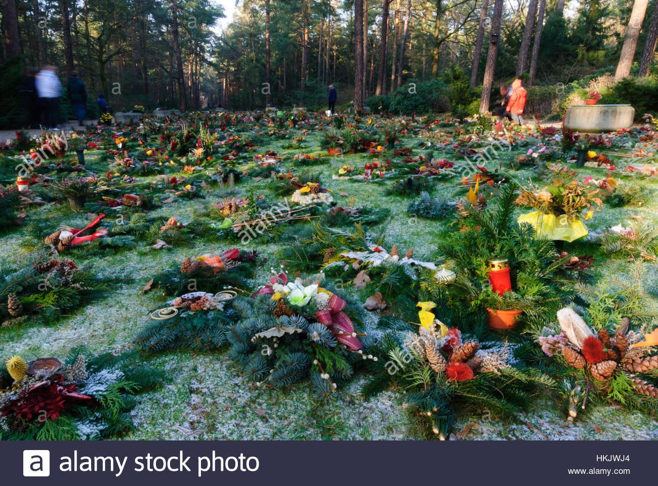 dresden munity urning grave on the cemetry heidefriedhof sachsen HKJWJ4