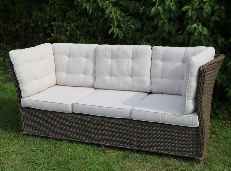 lounge sofa outdoor q5df destiny 3er loungesofa palma vintage braun lounge sofa bank