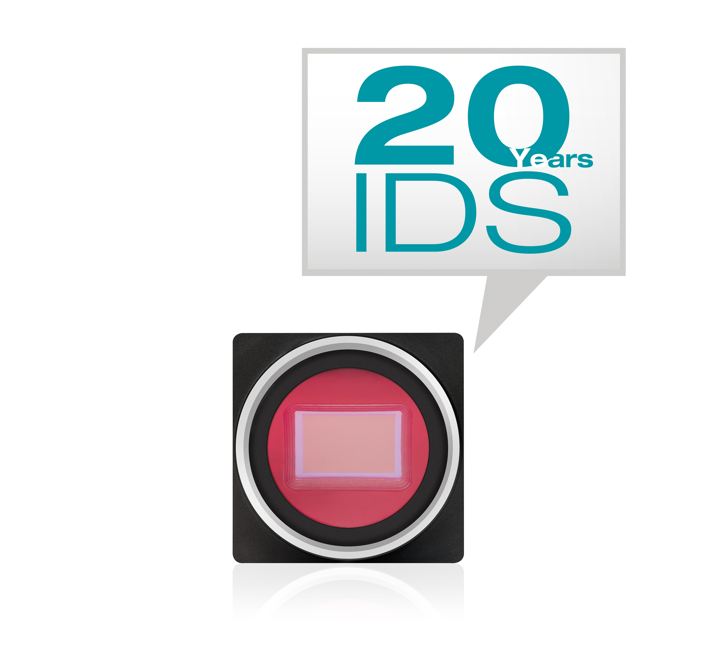ids industrial machine vision cameras 20 years speech bubble 300dpi