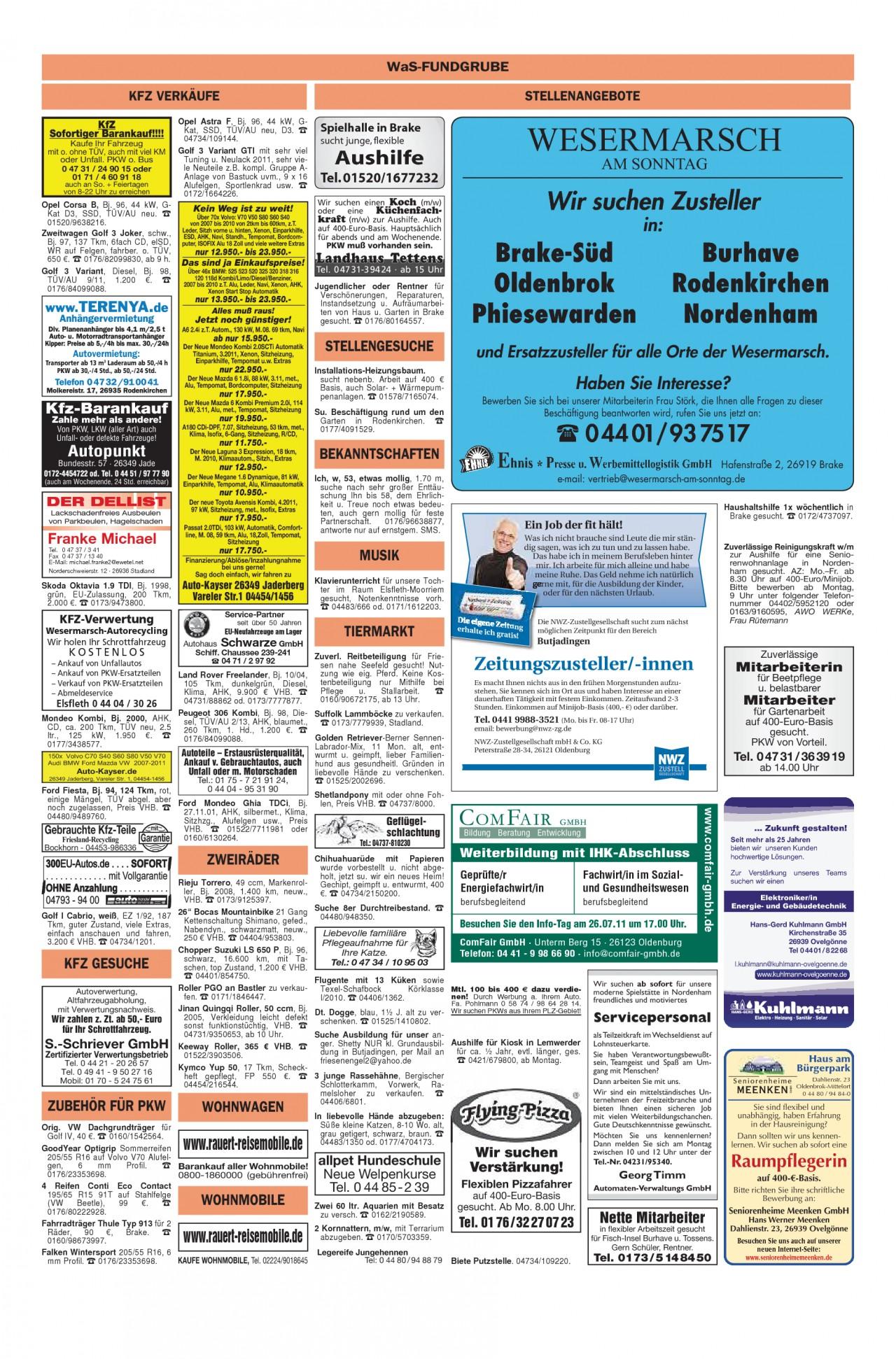 Garten Moorriem Best Of Wesermarsch Am sonntag Ausgabe Vom 24 07 2011 Seite 18