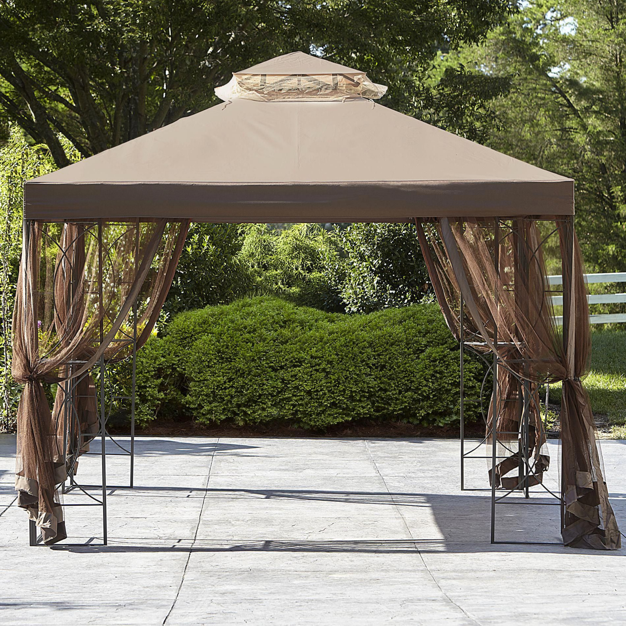 gazebo roof replacement ideas essential garden replacement canopy for 10x10 callaway gazebo tan durch gazebo roof replacement ideas