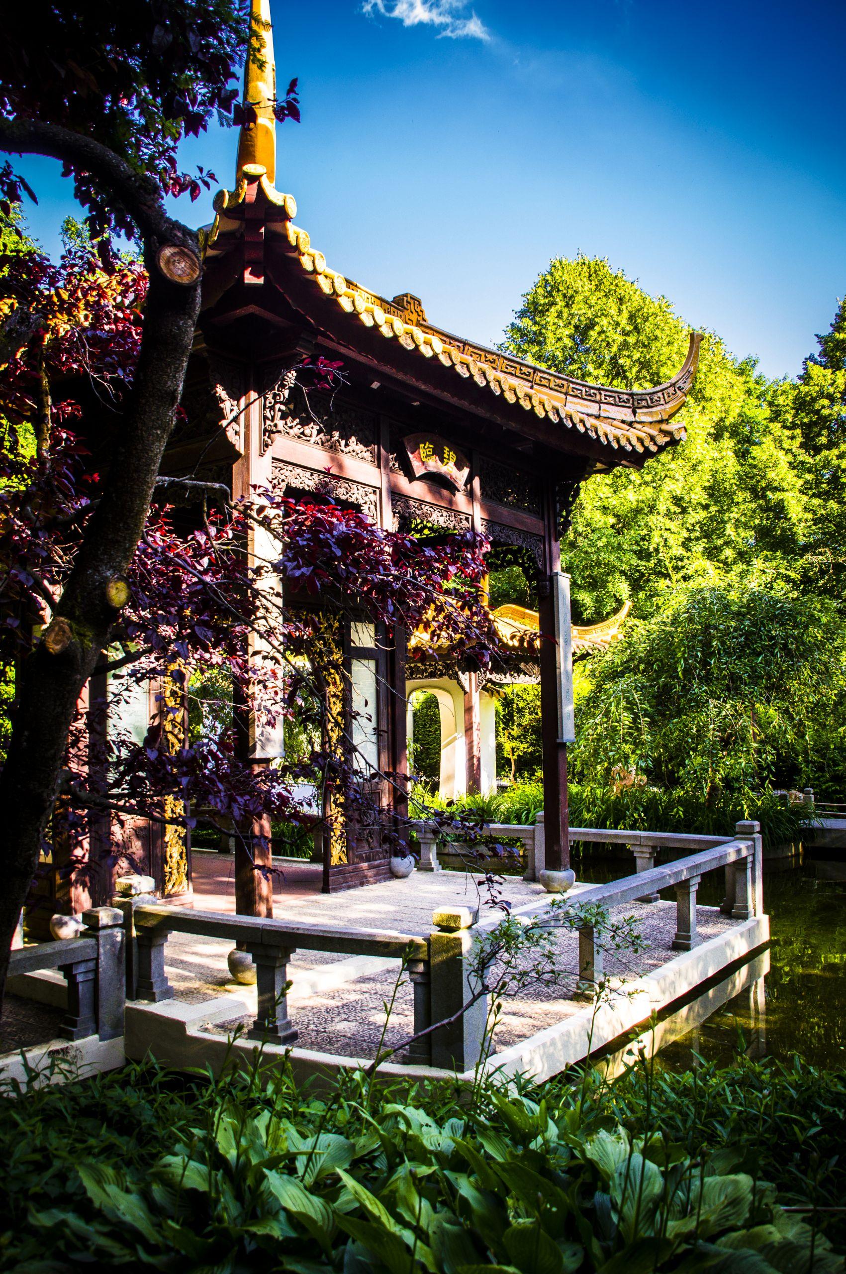 filemunchen westpark garten von duft und pracht pavillon des sommers
