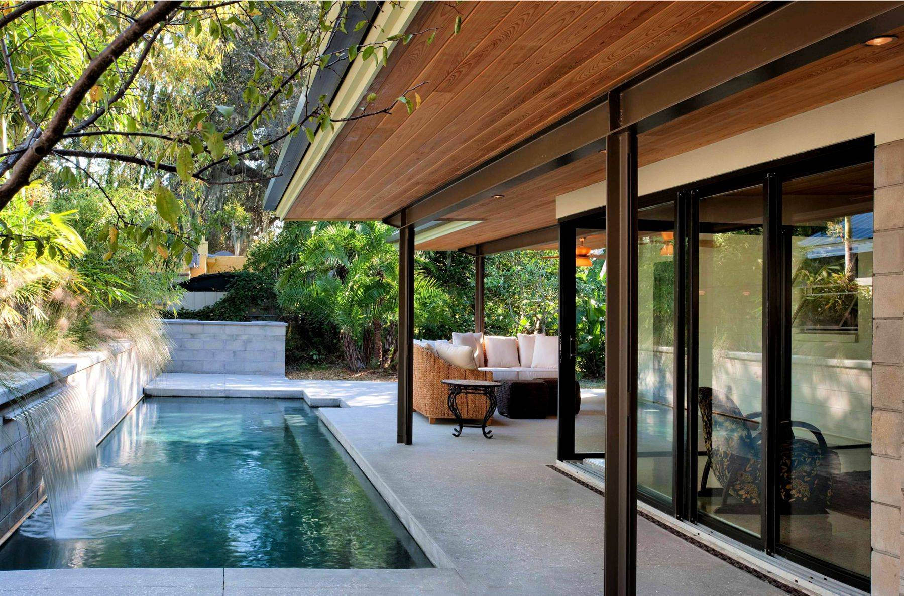 lanai house plans enjoyable inspiration ideas architectures decorating likable small swimming pools big