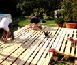 Garten Reihenhaus Elegant Zaun Aus Paletten Selber Bauen Beau Bett Selber Bauen Holz
