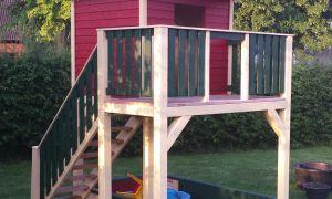 23 Neu Garten Spielturm
