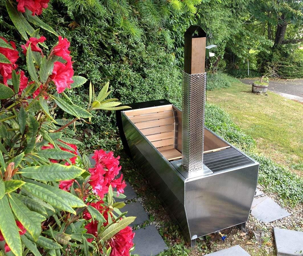 garten waschbecken selber bauen einzigartig soak eine beheizte ausenbadewanne mit stil of garten waschbecken selber bauen