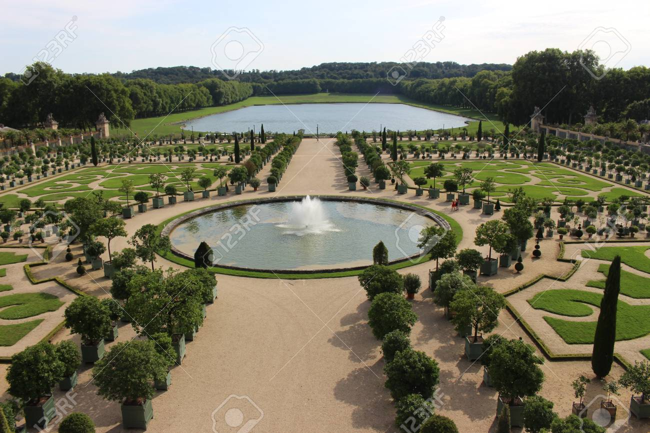 palace of versailles garden france