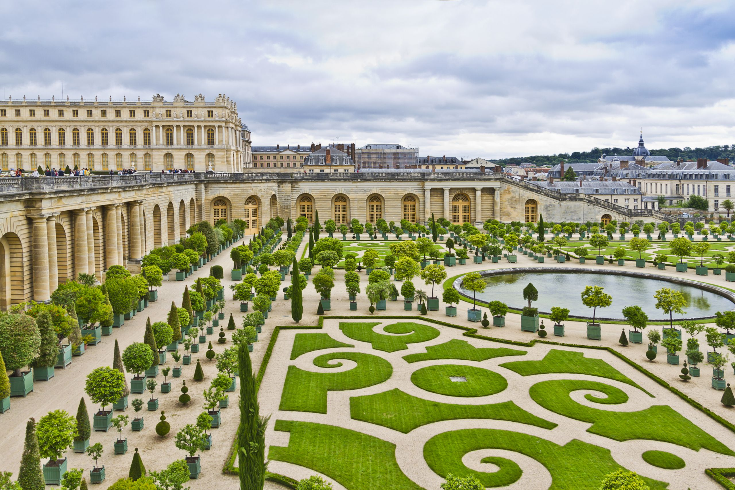 Palace of Versailles orangery designed by Louis Le Vau c KievVictor shutterstock