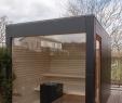 Gartensauna Neu Design Gartensauna Mit Panoramaverglasung Blackbox Von