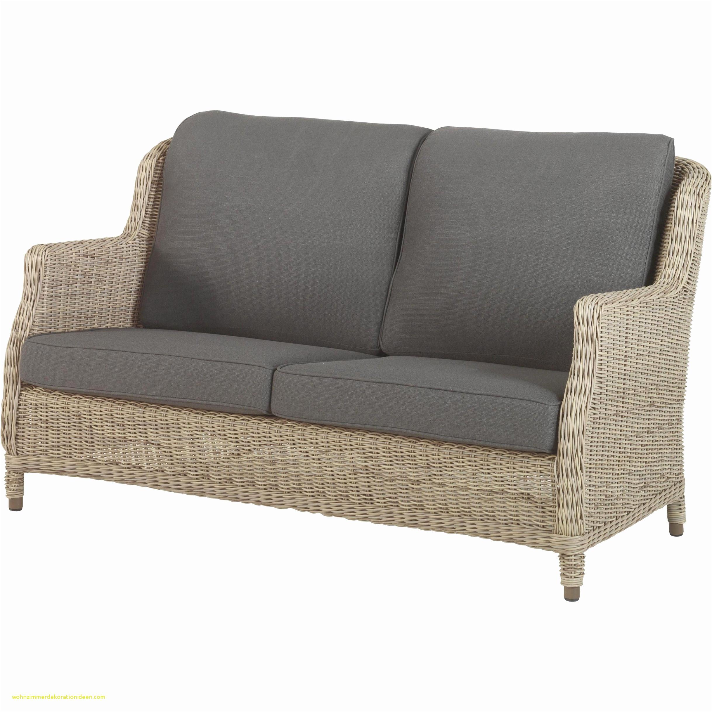 Gartensofa 3 Sitzer Einzigartig Rattan Couch Wohnzimmer