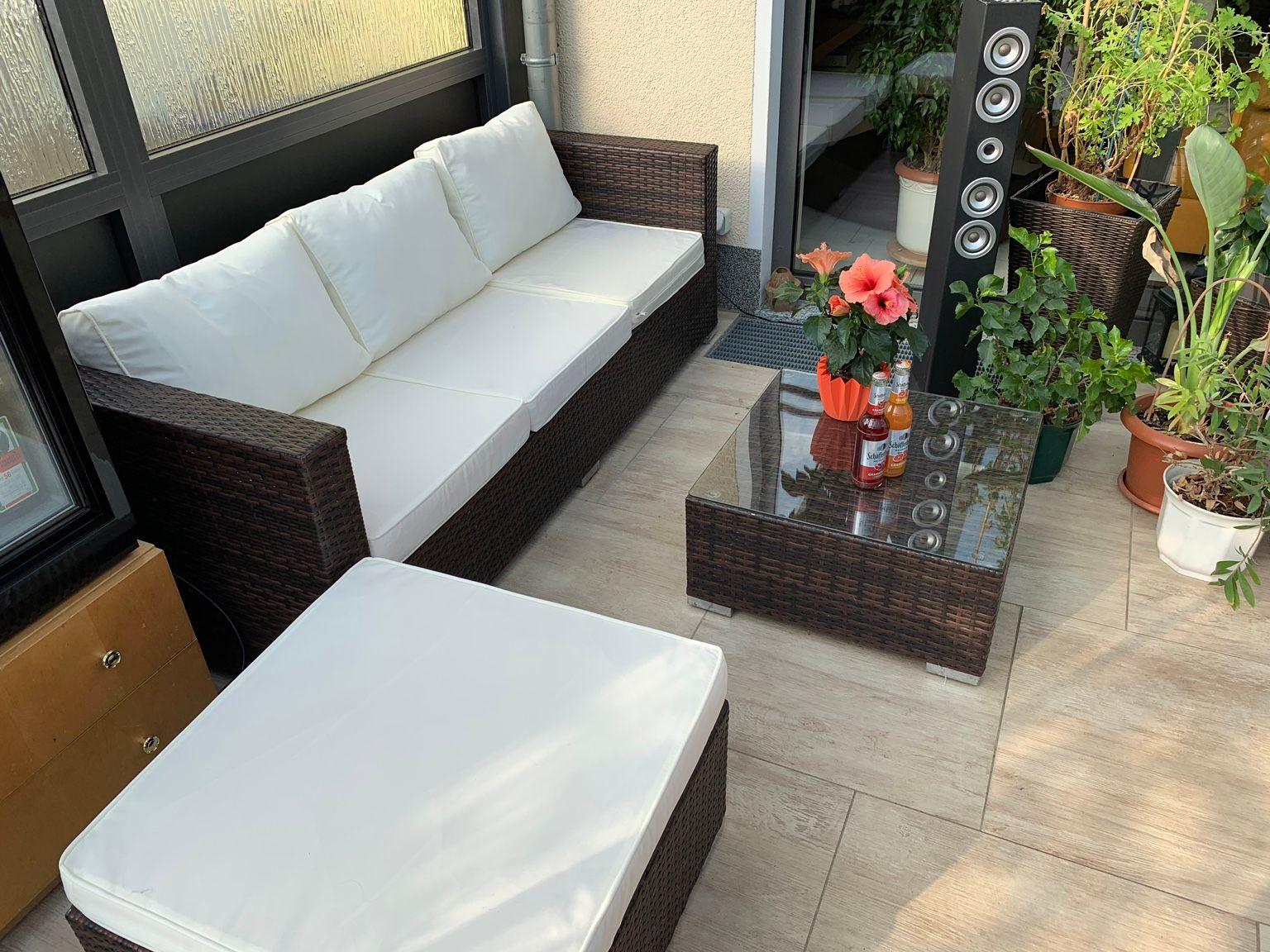 Gartensofa 3 Sitzer Frisch Gartensofa Garnitur