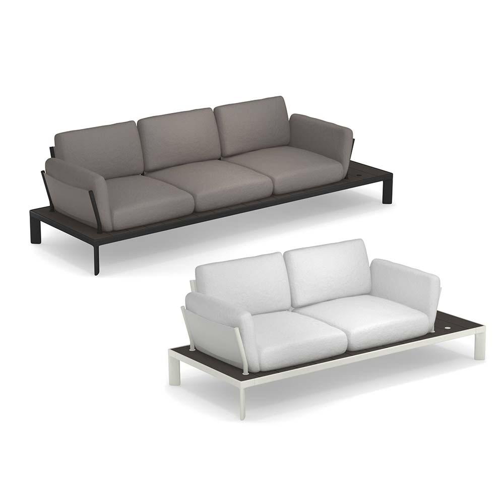 Gartensofa 3 Sitzer Schön Loungemöbel Outdoor