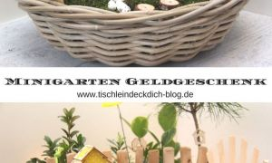 76 Schön Geldgeschenk Garten Basteln