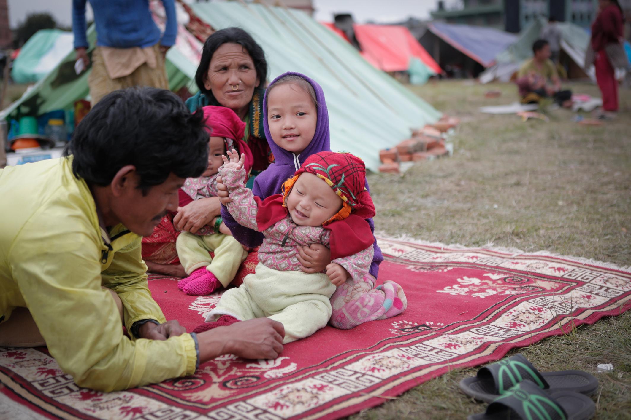 Pressefoto SOS Kinderdorf Nepal Zishaan Akbar Latif