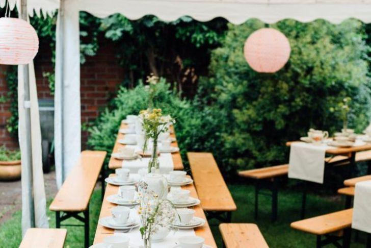 Hochzeitsfeier Im Garten Best Of Lässige Gartenhochzeit Mit Vintage Chic