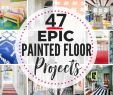 Holzterrassen Ideen Genial these 47 Painted Floor Ideas are Epic