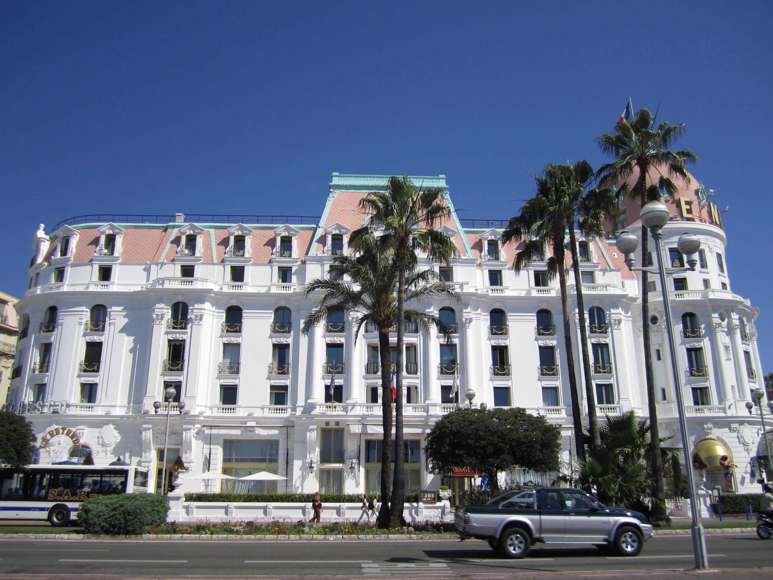 Hôtel 5 étoiles Le Negresco
