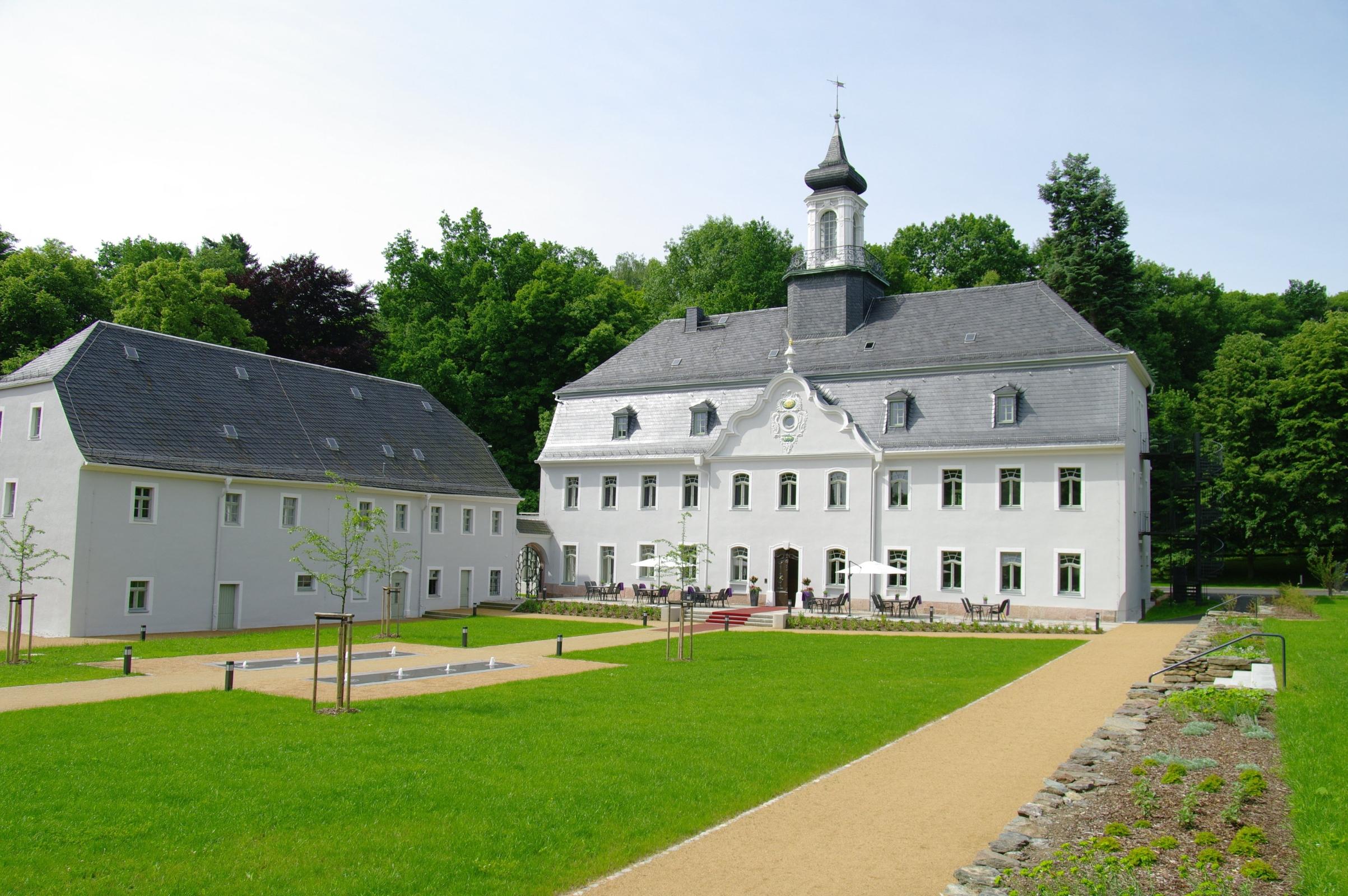 Hotel Schloss Rabenstein Chemnitz Garten