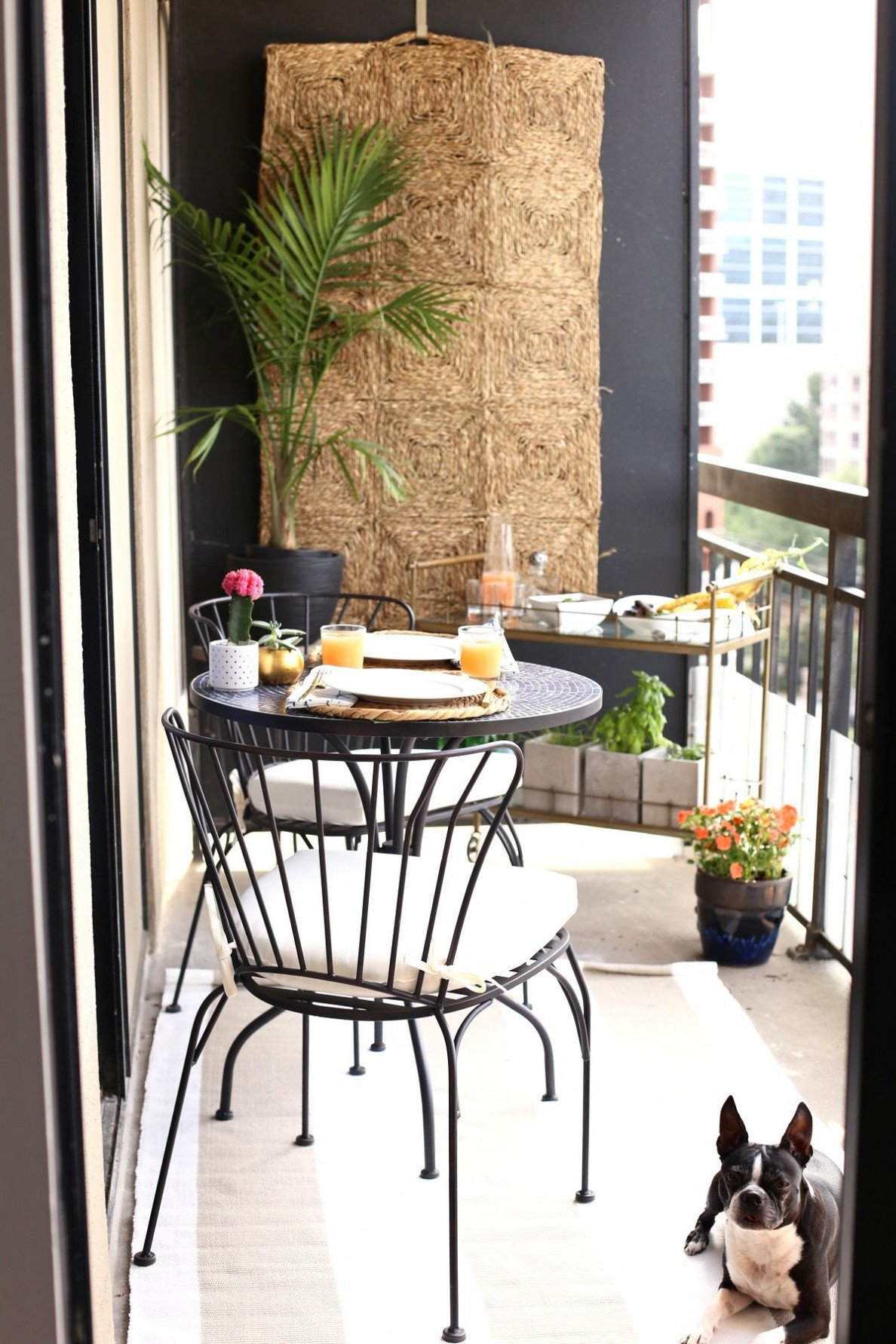 high rise patio ideas