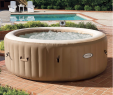 Jacuzzi Garten Elegant Intex Pure Spa Inflatable Portable Heated Bubble Massage