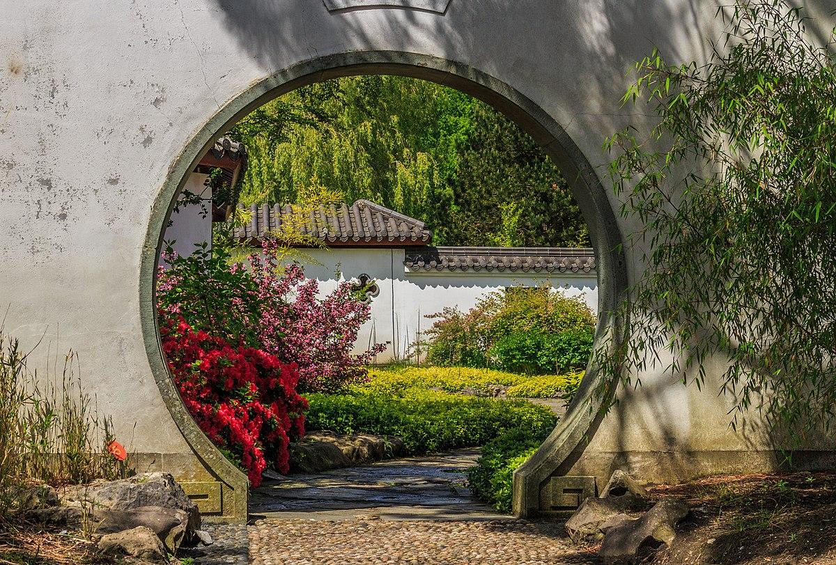 Japanischer Garten München Genial Moon Gate