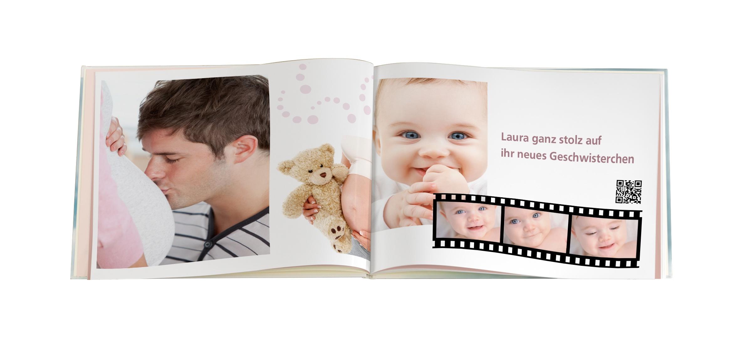 CEWE FOTOBUCH Baby Video im CFB