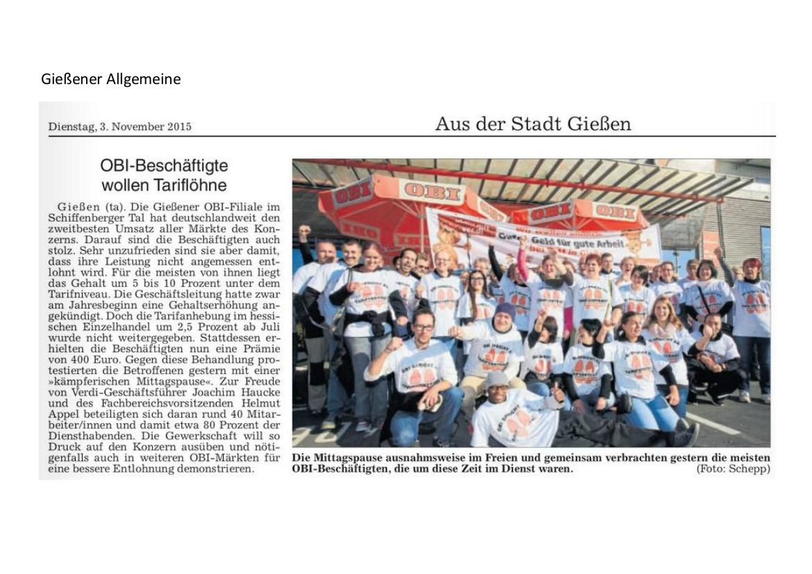 2015 11 03 Gießener Allgemeine OBI Aktion
