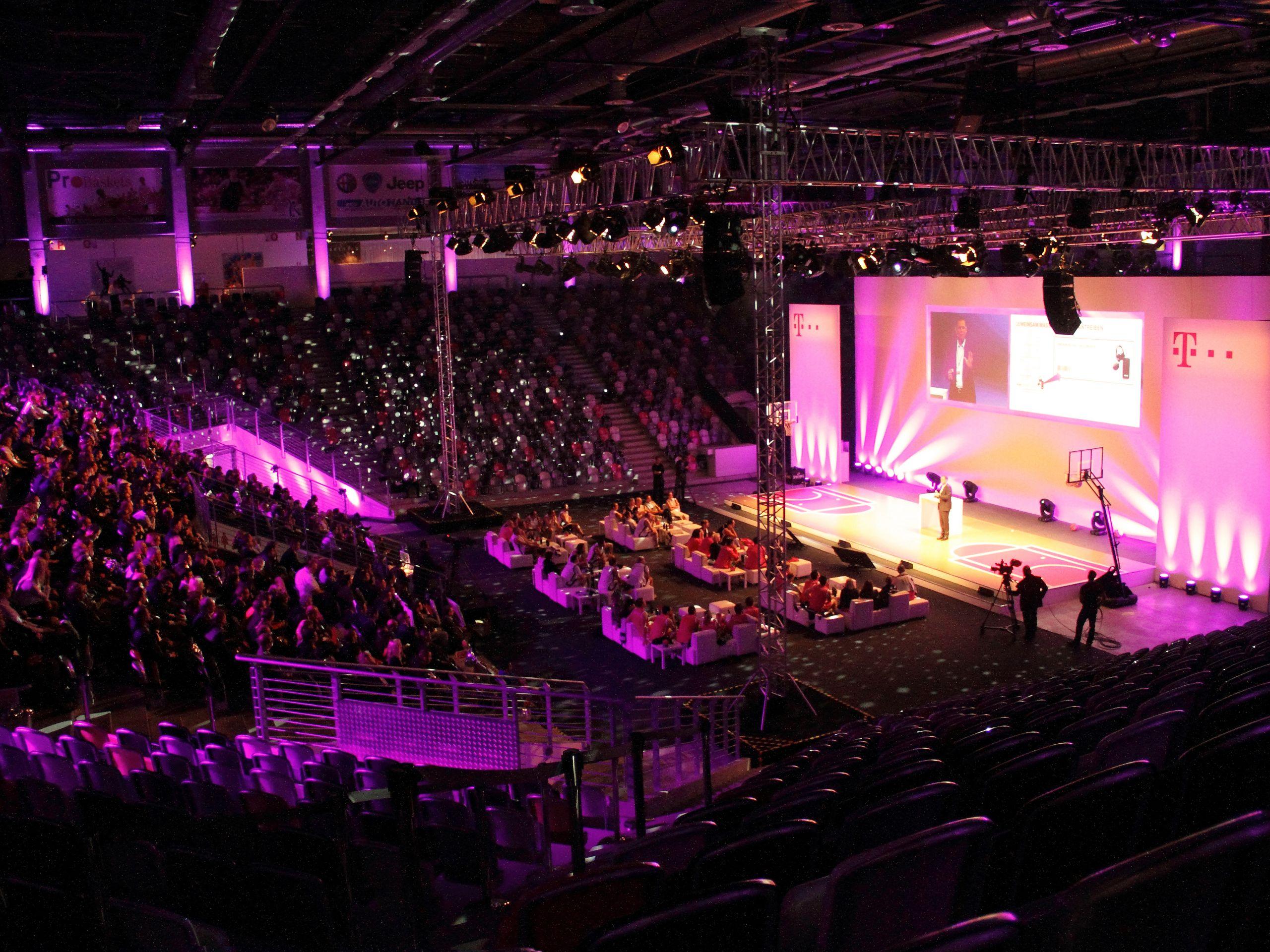Telekom Eventkaskade Veranstaltung Event 009