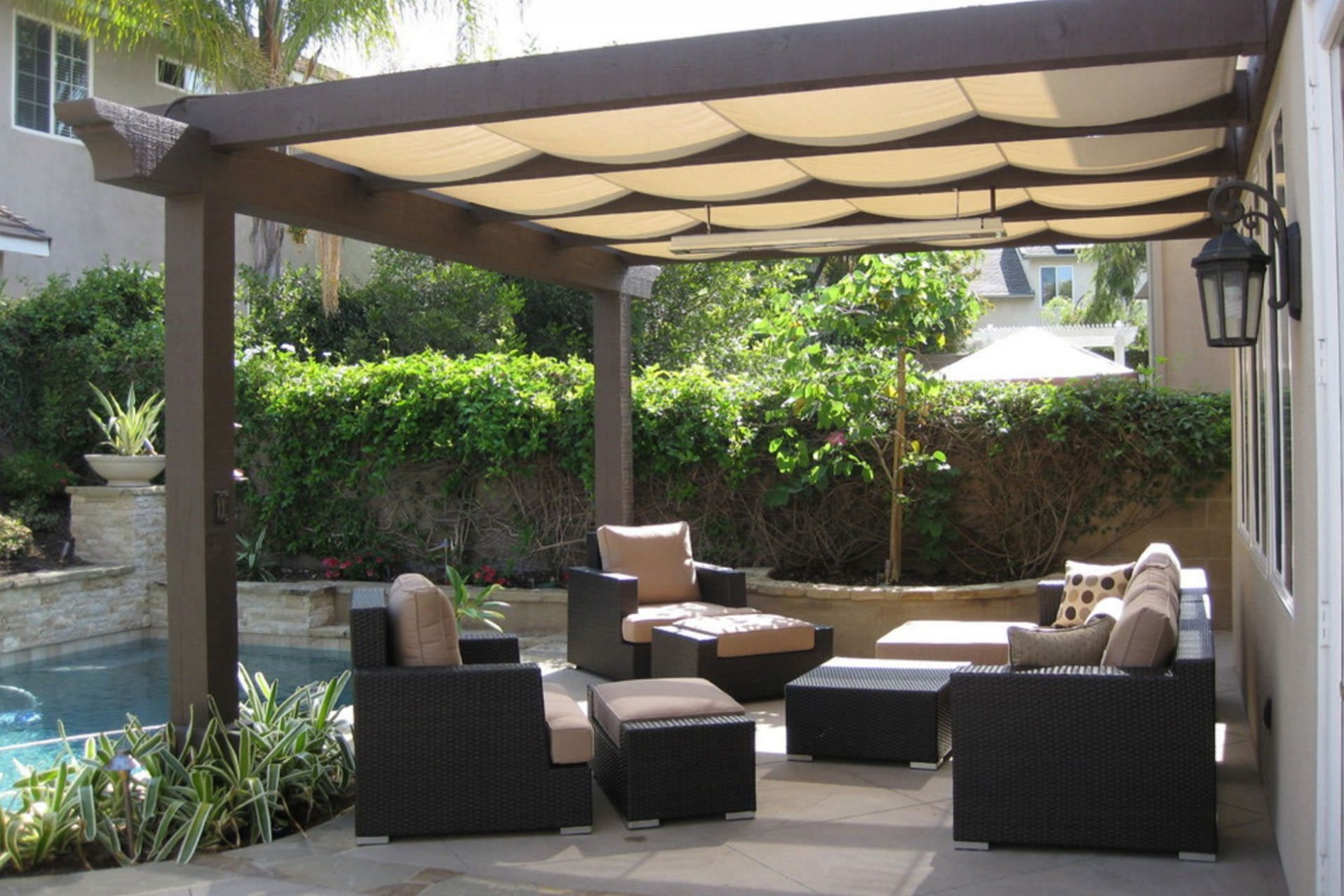 find out which pergola shade option is best for your space tips on