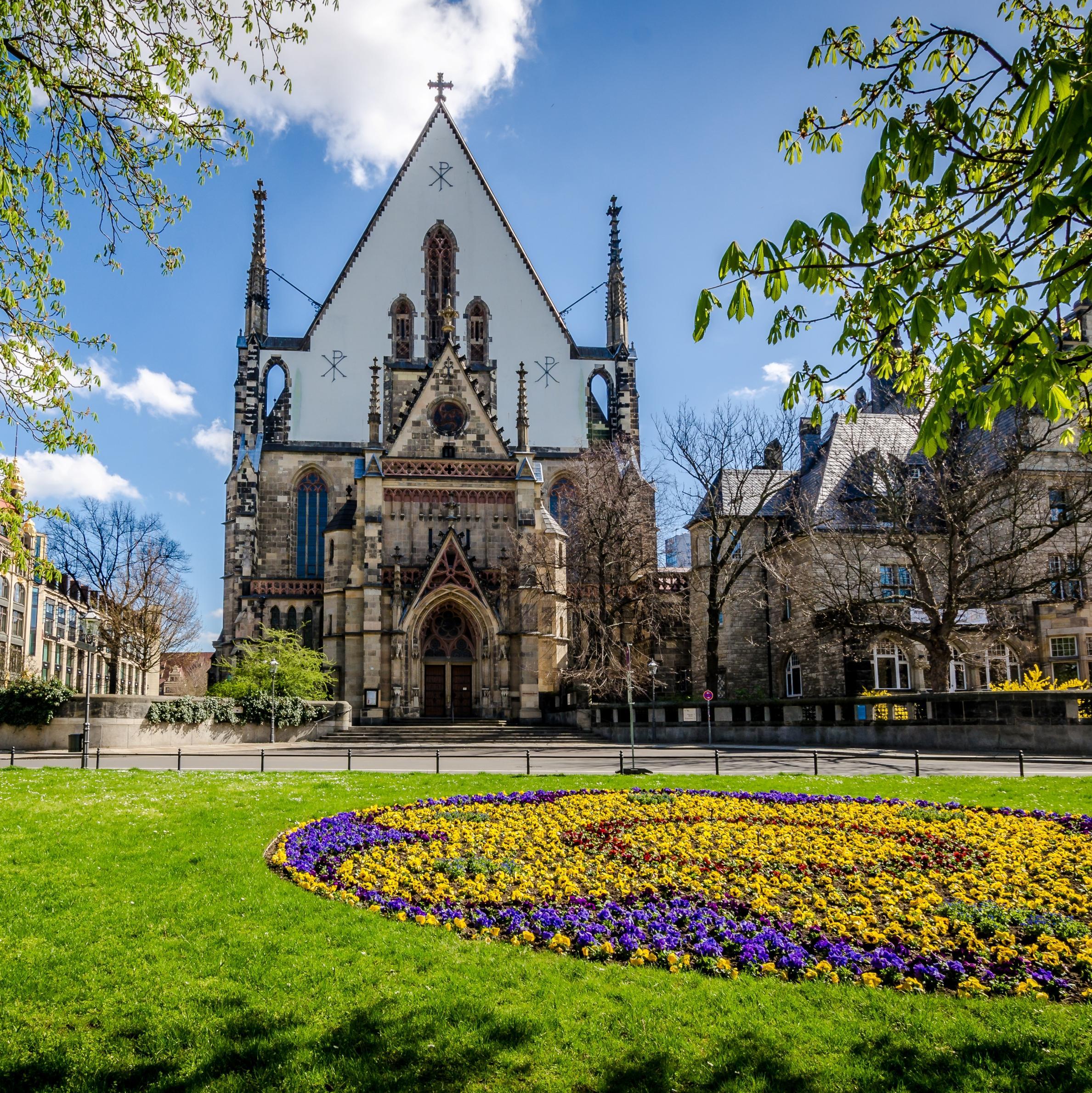 csm Thomaskirche Blueten Kultur Sehenswuerdigkeiten Robin Kunz leipzigavel d