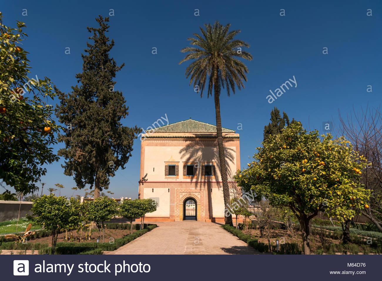 pavillon im menara garten marrakesch knigreich marokko afrika saadian M64D76
