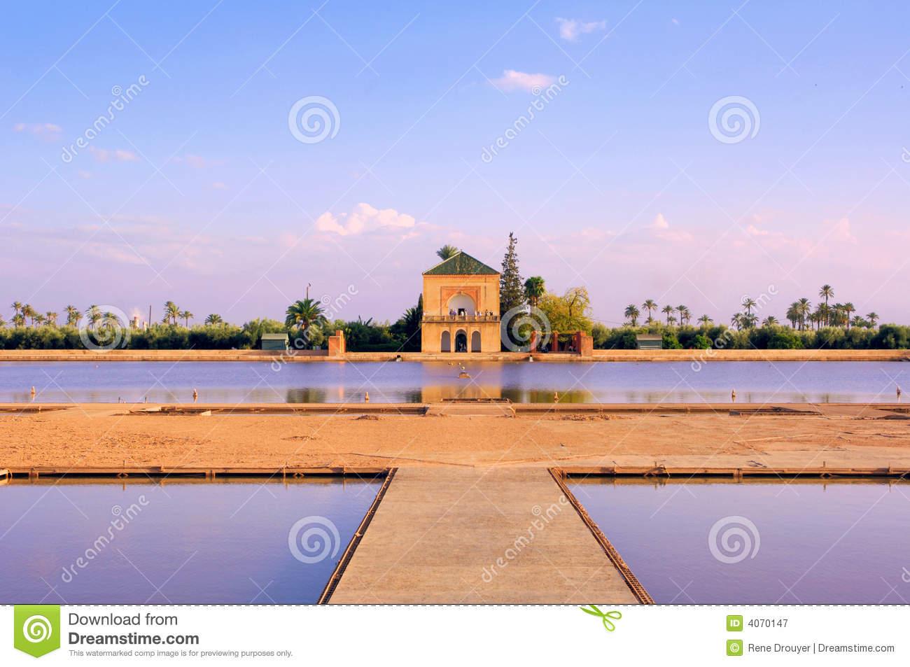 morocco marrakesh menara garden