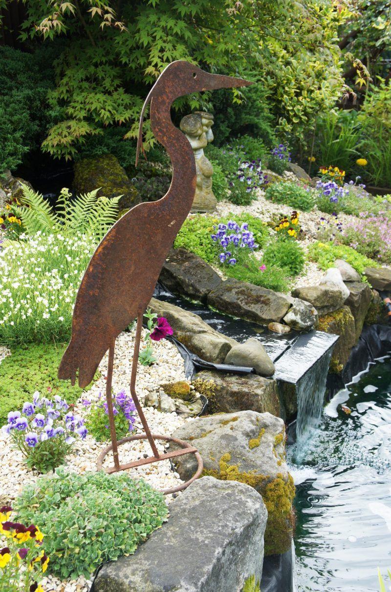 Metall Gartendeko Rost Inspirierend 46 Ideas for Garden Decor Rust – because Nature is Best