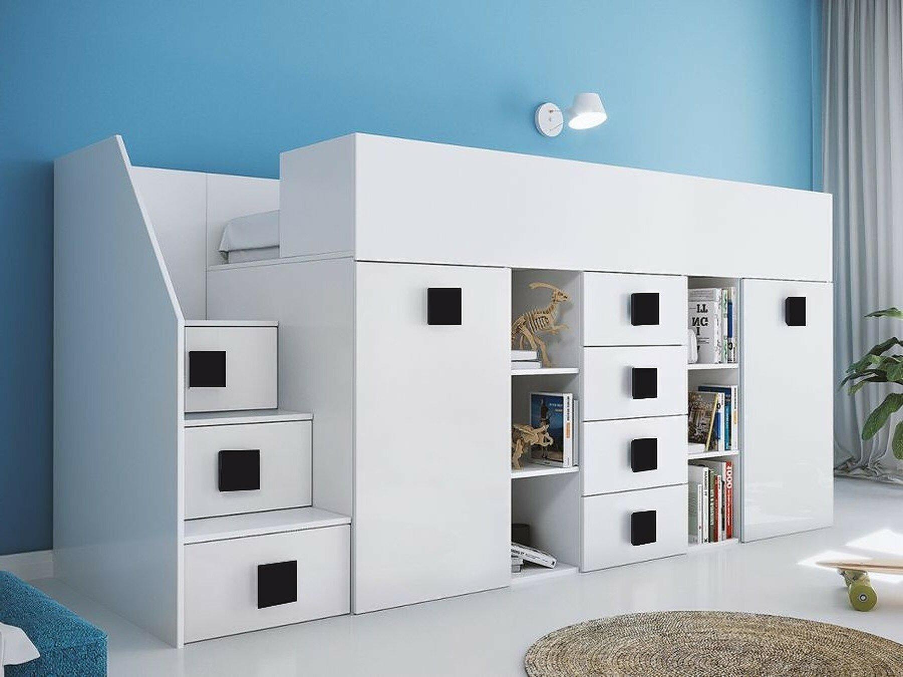 Möbelum Hochbett Elegant isabelle & Max Hochbett Fairchild Mit Möbel Set 90 X 200 Cm