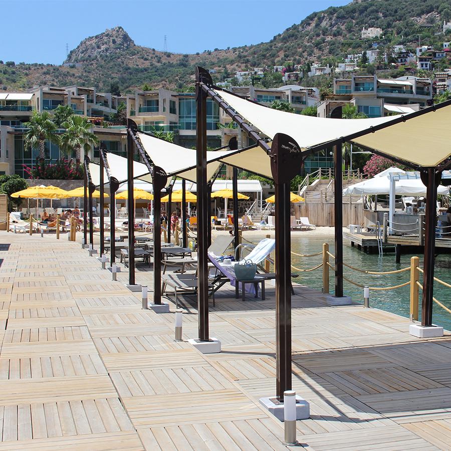 butterfly pavillon promenade mainzelt