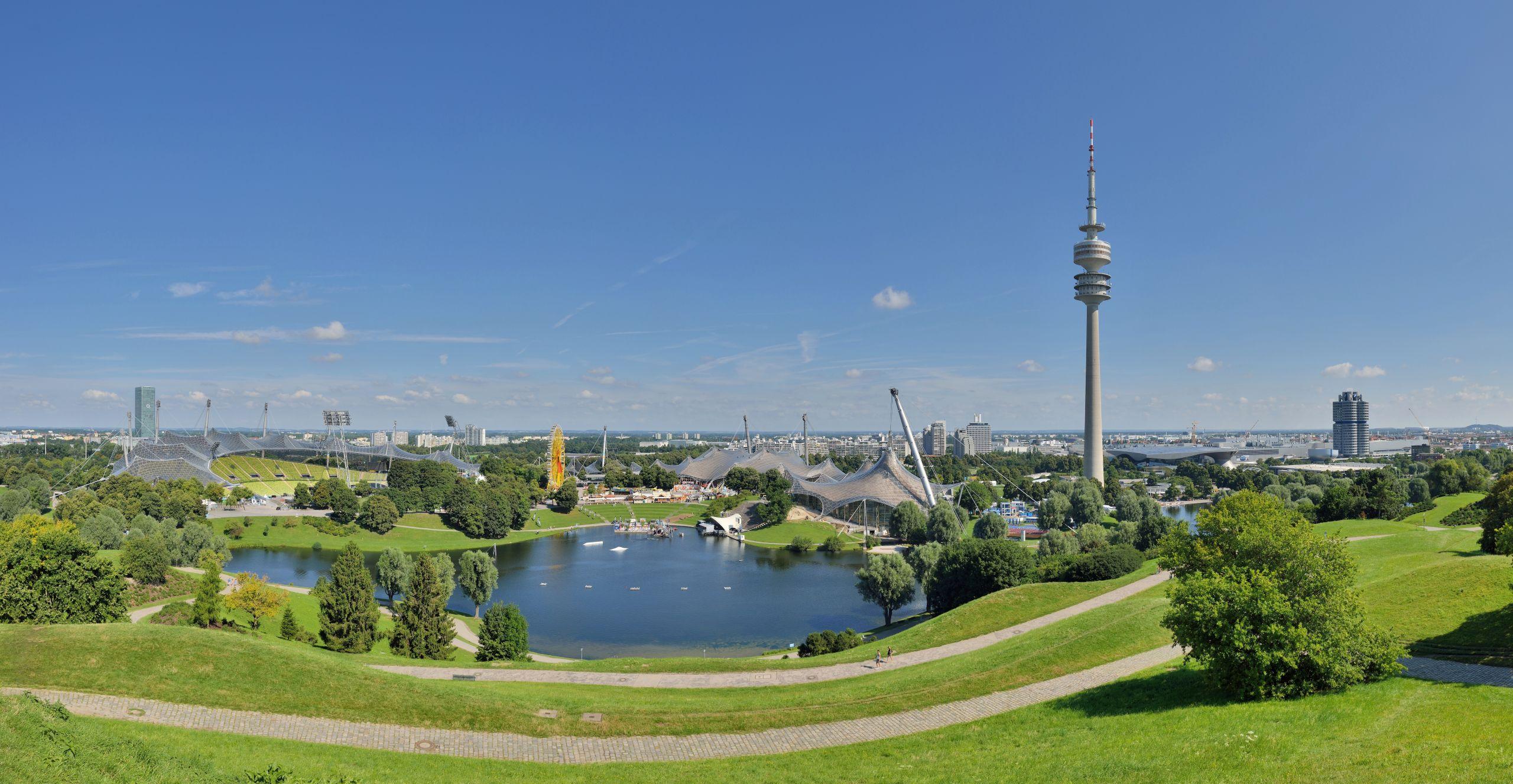 München Olympische Bauten