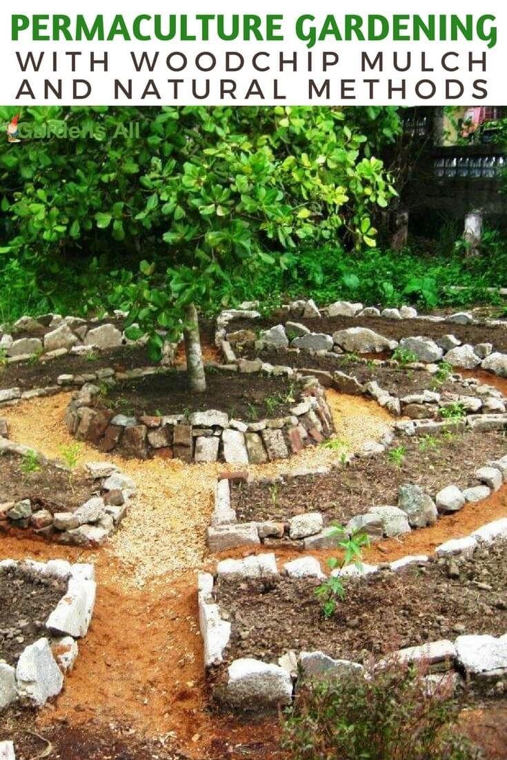 Permakultur Garten Planen Schön Permaculture Gardening with Woodchip Mulch and Natural