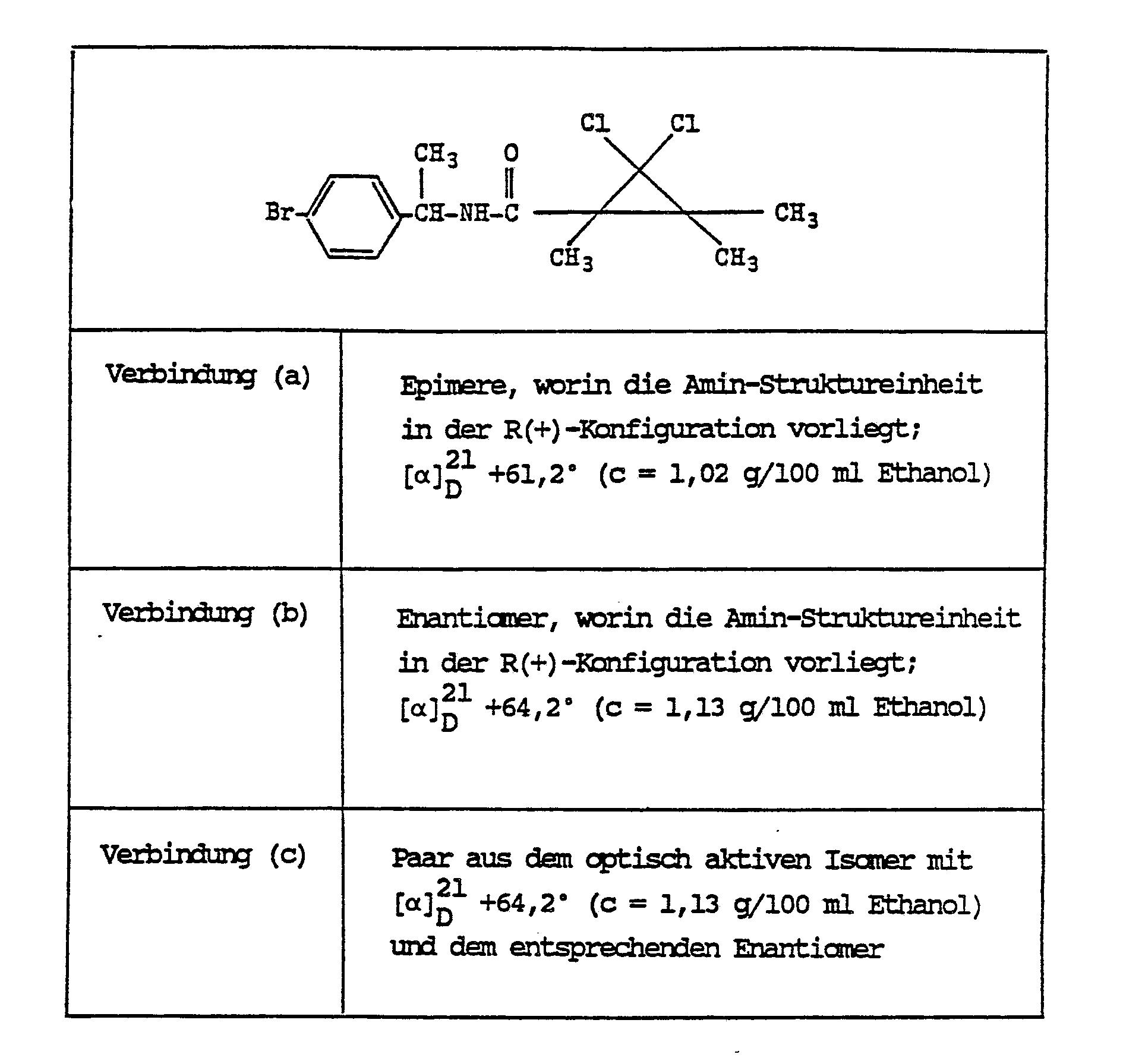 Pflanze Mit G Genial Ep A2 Optically Active Cyclopropanecarboxamides