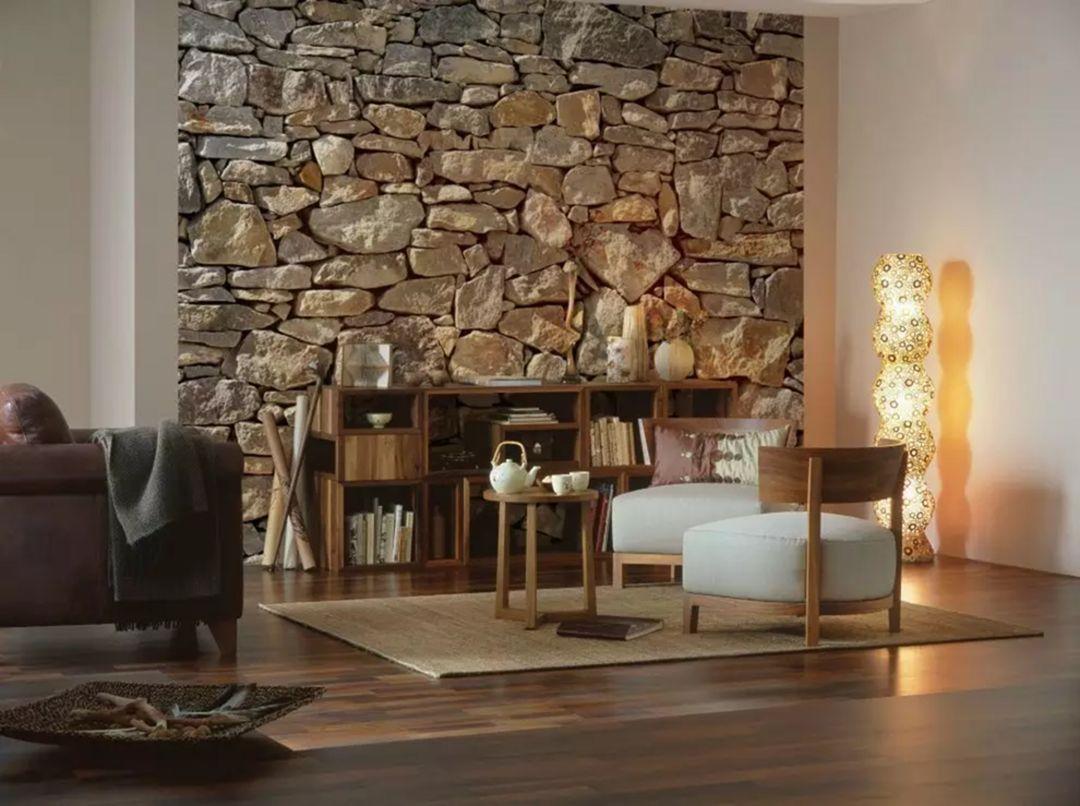 stone wall decoration