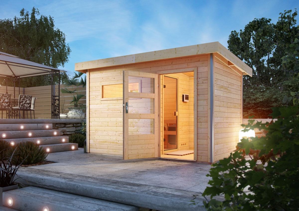 Sauna Im Garten Baugenehmigung Neu Saunahaus Skrollan 1 Mit Vorraum