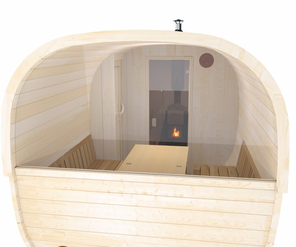 Sauna Im Garten Baugenehmigung Schön Finntherm Fass Sauna Louis