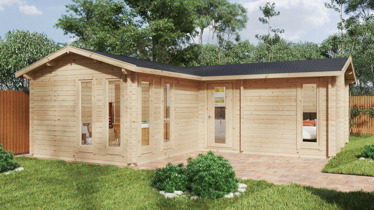 """Sauna Im Garten Baugenehmigung Schön Neue Garten Holzhäuser Der Reihe """"devon"""""""