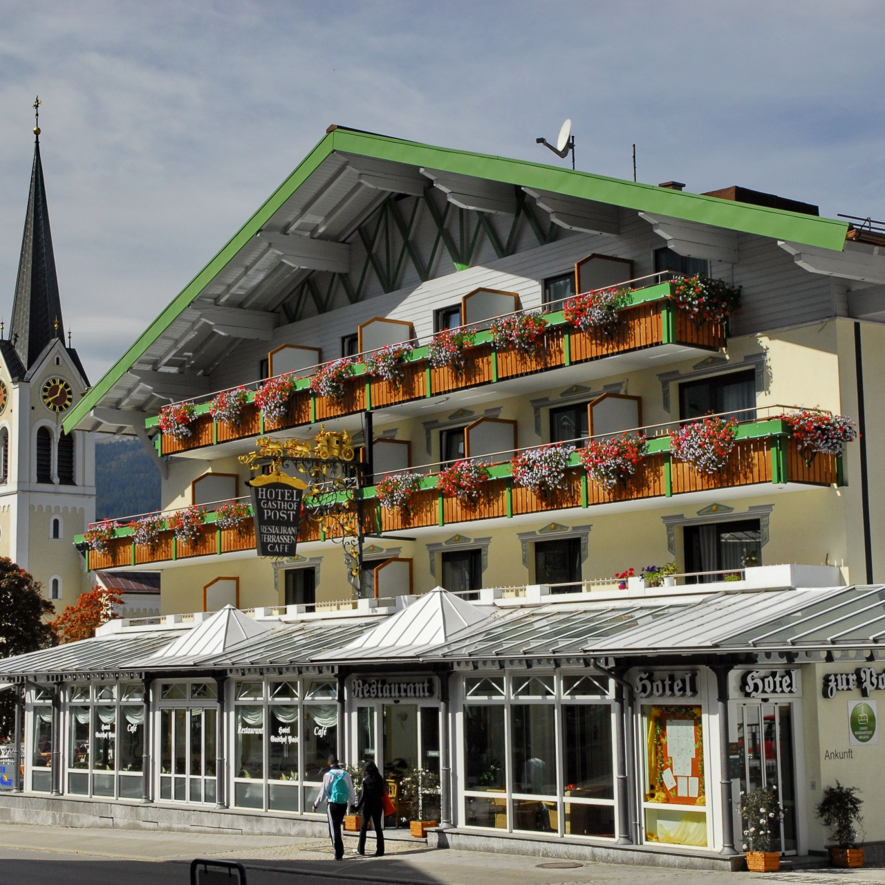 Hallers Posthotel Riezlern Mittelberg Exterior view 4